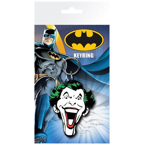 GB EYE LTD Batman Comic - Joker Face (Portachiavi Gomma)