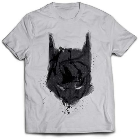 2BNERD Batman - Bat Mask (T-Shirt Unisex Tg. S)