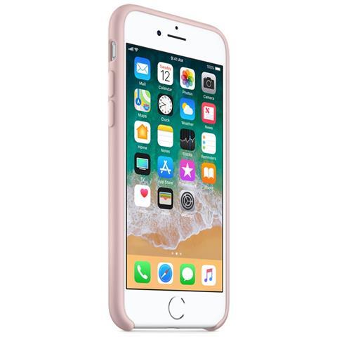 APPLE Custodia in Silicone per iPhone 8 e 7 Colore Rosa Sabbia