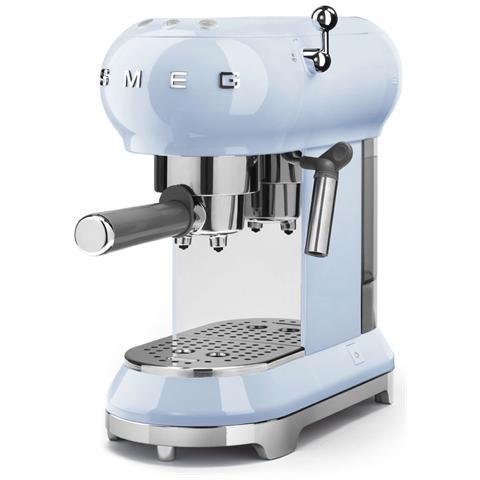 Macchina Caffé Espresso Manuale Capacità Serbatoio 1 Litro Potenza 1350 Watt Colore Azzurro