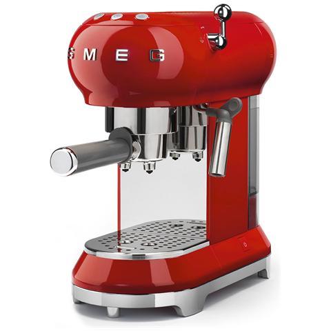 Macchina Caffé Espresso Manuale Capacità Serbatoio 1 Litro Potenza 1350 Watt Colore Rosso