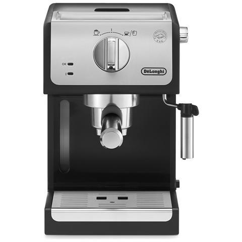 ECP33.21 Macchina da Caffè Espresso Manuale Capacità 1.1 Litri Potenza 1100 Watt Colore Silver
