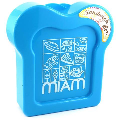 panino box 'coloriage' blu - [ m3961]