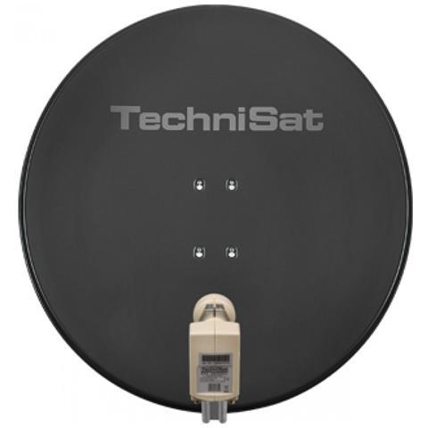 TechniSat Parabola Satellitare Satman 850 Quattro LNB Grigio Ardesia