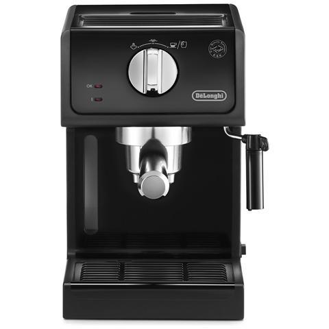 ECP31.21 Macchina da Caffè Espresso Manuale Capacità 1.1 Litri Potenza 1100 Watt Colore Nero