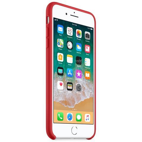 APPLE Custodia in Silicone per iPhone 8 Plus e 7 Plus Colore Rosso