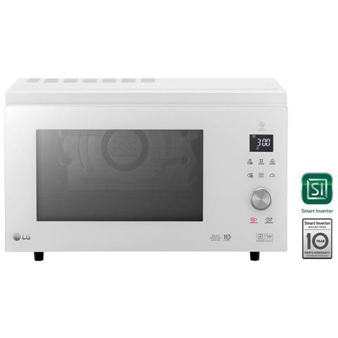 MJ3965BPH Forno Microonde Smart Inverter Combinato con Grill Capacità 39 Litri Potenza 1100 Watt Colore Bianco