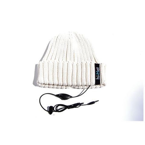 HI-FUN Berretto Hi-Hat con Risvolto Colore Bianco