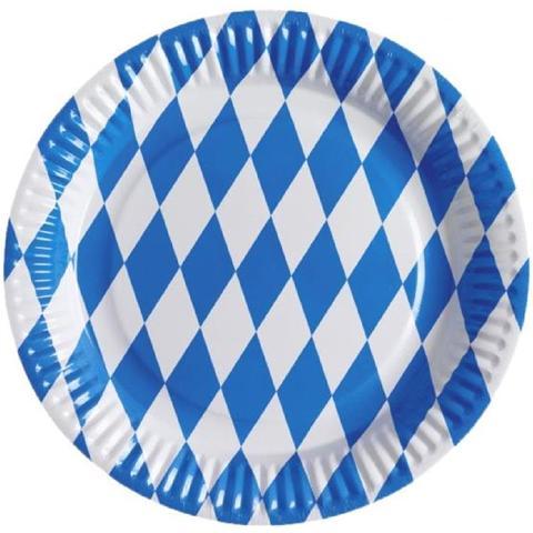 Amscan Piatto Carta Festa Bavarese, Birra *02064 Oktoberfest