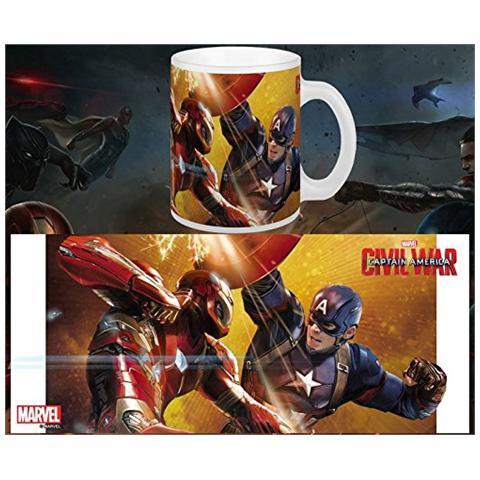 Tazza Captain America Civil War Mug Fight