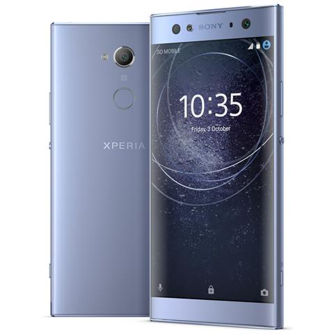 "SONY Xperia XA2 Ultra Blu 32 GB 4G / LTE Display 6"" Full HD Slot Micro SD Fotocamera 23 Mpx Android Europa"