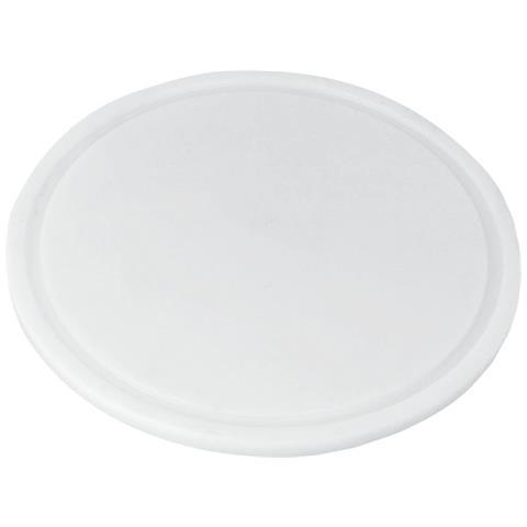 Tagliere Tondo Cm. 24 Bianco Pe