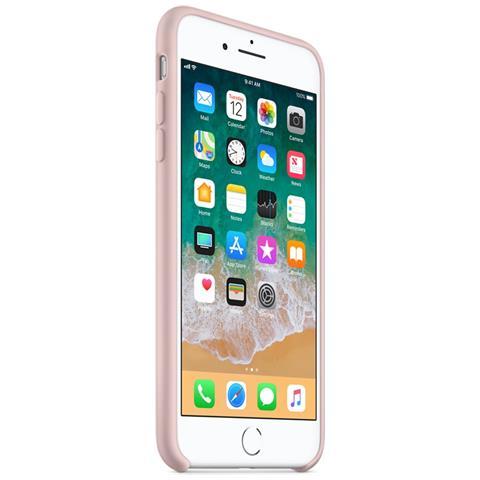 APPLE Custodia in Silicone per iPhone 8 Plus e 7 Plus Colore Rosa Sabbia
