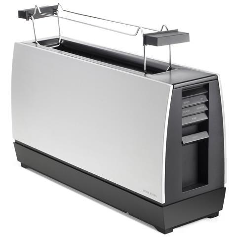 Image of Tostapane One Slot Toaster II a 2 Fette Potenza 2178 Watt Colore Argento / Nero
