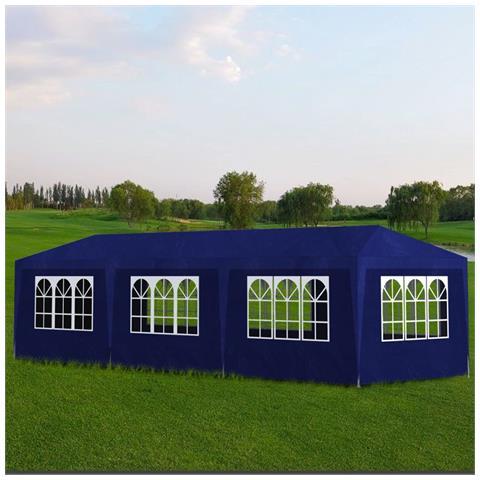Tenda per Feste 3x9 m Blu