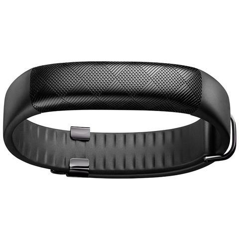 JAWBONE UP2 Bracciale nero con cinturino classico per monitorare l'attività fisica e il sonno Compatibile con Apple e Android RICONDIZIONATO