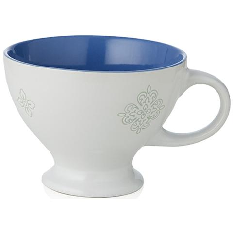 Tazza Colazione Panarea Bianco Stoneware