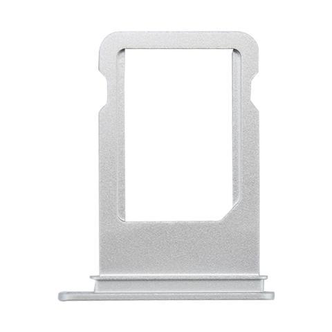 BOMA Slot Tray Holder Porta Sim Card Scheda Apple Iphone 7 Argento Silver Vassoio Cassettino