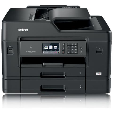 BROTHER Stampante Multifunzione MFC-J6930DW Inkjet a Colori A3 Stampa Copia Scansione Fax 35 ppm (B / N) 27 ppm (a Colori) Wi-Fi Ethernet USB 2.0