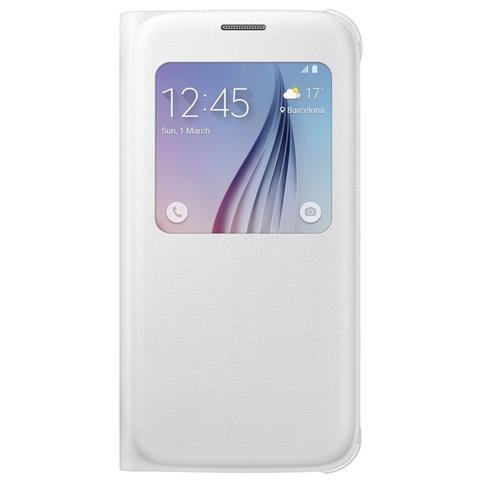 SAMSUNG Custodia Booklet per Galaxy S6 - Colore Bianco