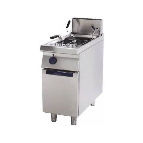 Cuocipasta Elettrico Professionale Vasca 26 Litri Cm 40x70x85 Rs0774