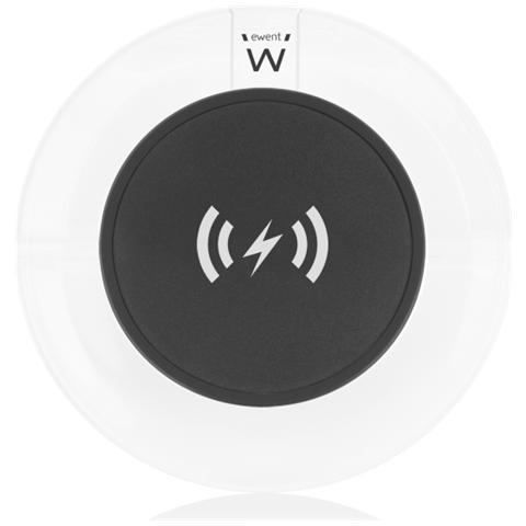 EWENT Caricabatterie Wireless universale QI, senza fili
