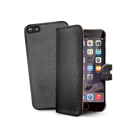 CELLY bk pu wallet case for iphone 6 plus