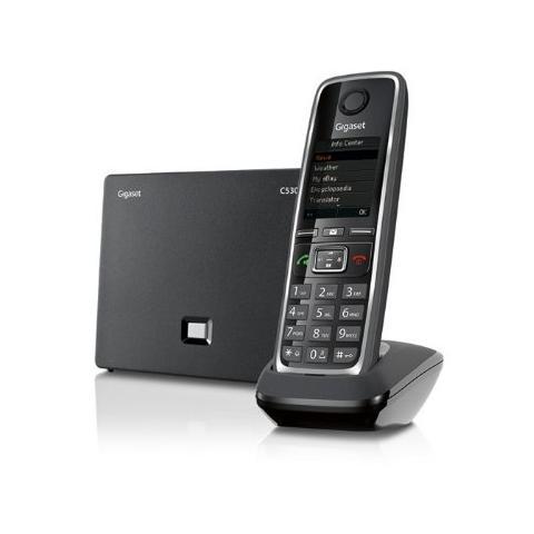 Gigaset C530 IP Cordless + VoIP Colore Nero