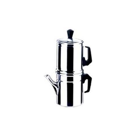 Caffettiera in Acciaio Inox 9 Tazze - Modello Napoletana