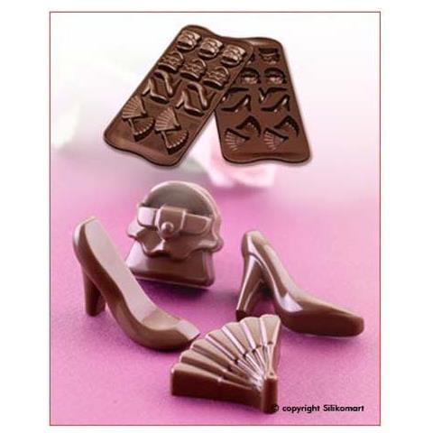 Silikomart Stampo cioccolato fashion easy choc 35x30mm h. 16mm 112.5ml silicone
