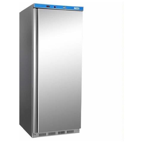 Armadio frigo refrigerato 600 Lt. con struttura esterna in acciaio inox. Temp. +2° / +8°C