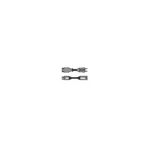 PROEL PH100LU5 Cavo phono rete con connessioni presa volante XLR 3 poli + spina volante SHUKO 16A > spina volante XLR 3 poli + presa volante EC standard 3 poli