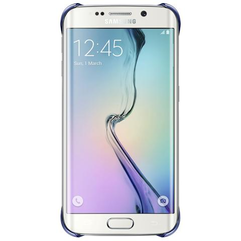 SAMSUNG Clear Cover per Galaxy S6 Edge - Nero