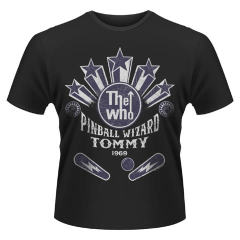 PLASTIC HEAD Who (The) - Pinball Wizard (T-Shirt Unisex Tg. S)