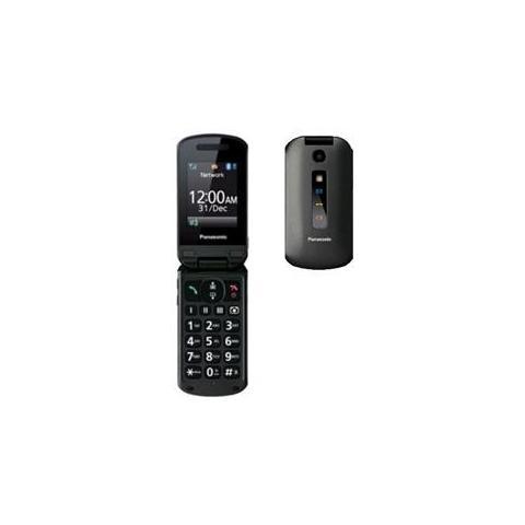 "PANASONIC KX-TU329 Grigio Display 2.4"" Bluetooth Fotocamera 2Mpx RadioFM con Tasti Grandi + SOS"