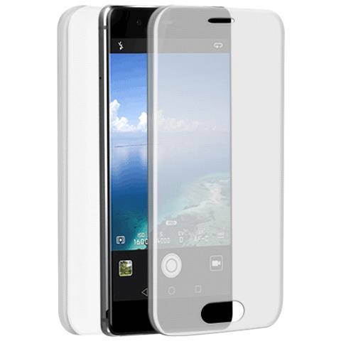 FONEX Specter Cover Fronte / Retro in TPU con Funzione 3D Touch per Huawei P10 Lite Colore Trasparente