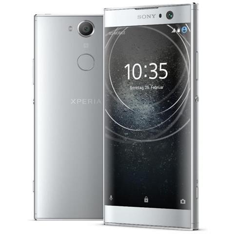 "SONY Xperia XA2 Argento 32 GB 4G / LTE Display 5.2"" Full HD Slot Micro SD Fotocamera 23 Mpx Android Europa"