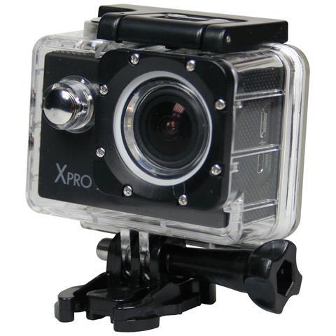 MEDIACOM Action Cam Xpro 215 Go Video 4K Wi-Fi 12 Mpx