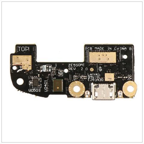 BOMA Cavo Flat Flex Connettore Ricarica Micro Usb Microfono Asus Zenfone 2 Ze550ml
