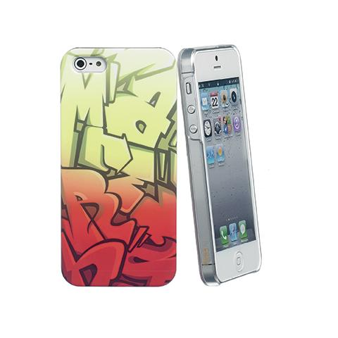 CELLY cover letters ip 5/5s red / yel