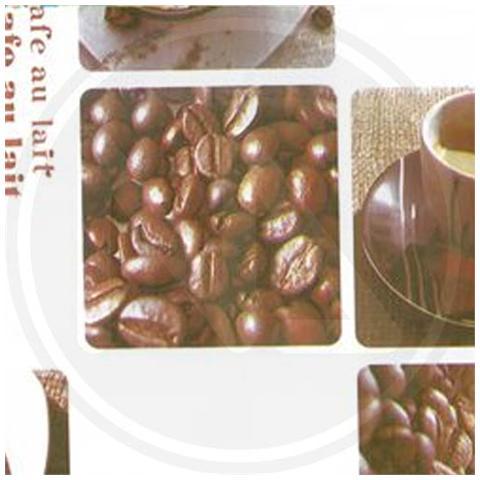 TOVAGLIATO in PVC MAURER mod. CAFFE Rotolo da 20 mt Altezza 140 cm 40 gr / mq