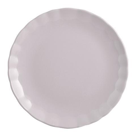 """H&H Set 6 Piatti Piani Ceramica """"camelia"""" Lilla Tableware"""