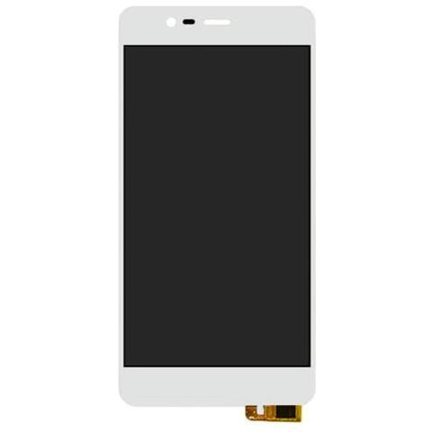 BOMA Schermo Display Lcd Touch Screen Ricambio Asus Zenfone 3 Max Zc520tl Bianco