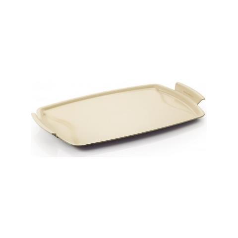 Bistecchiera Moneta Gli Speciali Multipiastra 54x32 Cm Esterno Grigio Made In Italy Moneta Alluflon - Multipiastra Ceramica 54x32
