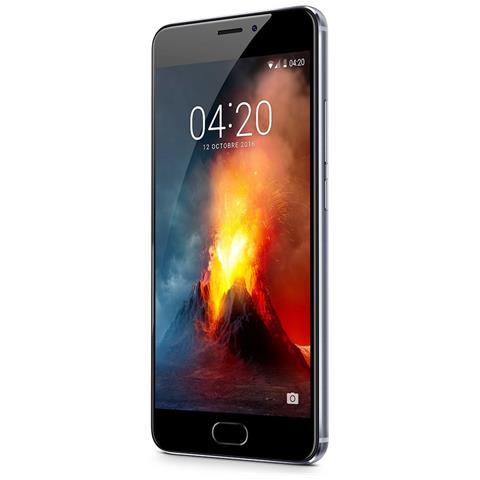 Image of M5 Note Grigio Dual Sim Display 5.5'' Full HD Octa Core Ram 3GB Storage 32GB 4G / LTE Slot MicroSD Fotocamera 13Mpx Android - Italia