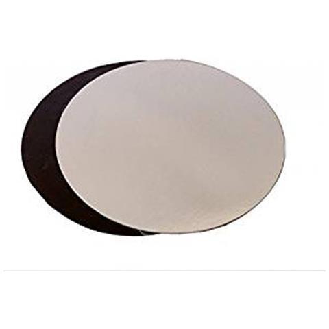 Moneta Piatto torta nero / argento cerchio 40cm
