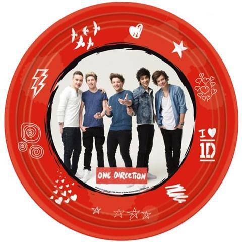 Amscan Piatti Carta One Direction, Arredo Festa Party Compleanno *20242