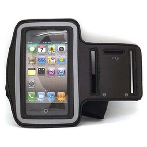 NetworkShop Custodia Fascia Da Braccio Sport Armband Nero Per Iphone 4/4s / 3g / 3gs / ipod Touch