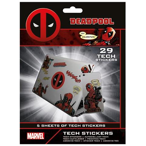 PYRAMID Marvel: Deadpool (Tech Sticker Pack)