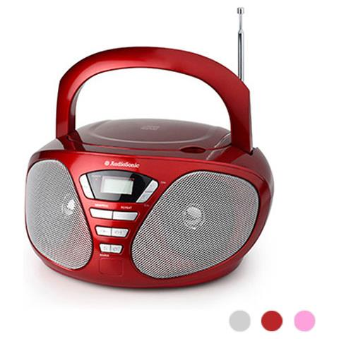 AudioSonic Stereo Audiosonic Con Radio E Lettore Cd